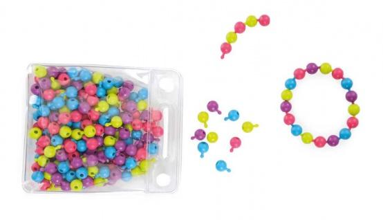 Kinderschmuck Steck-Perlen für Kinderarmbänder oder Halsketten