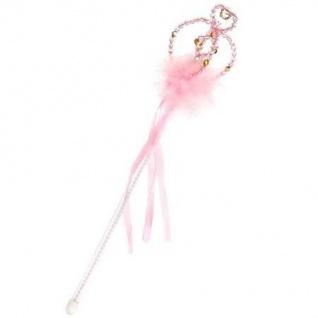 Prinzessinnen-Zauberstab rosa/silber