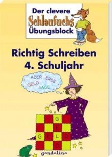 Kinderbuch, Schlaufuchs Richtig Schreiben im 4. Schuljahr - Vorschau