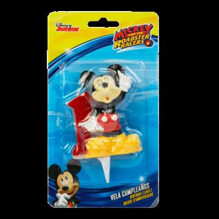 Kuchenkerze 3D Mickey, Zahl 1