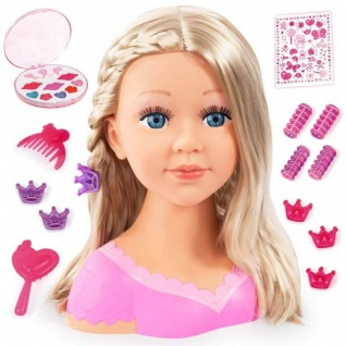 Charlene Super Model, Frisierkopf mit Kosmetik
