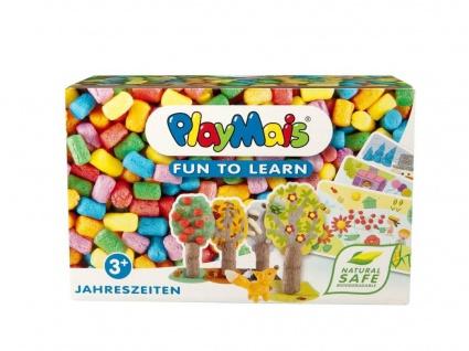 PlayMais Classic FUN TO LEARN, Jahreszeiten, 4er Set