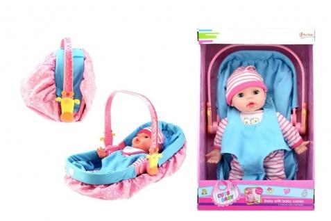 Babypuppe in MiniCosi