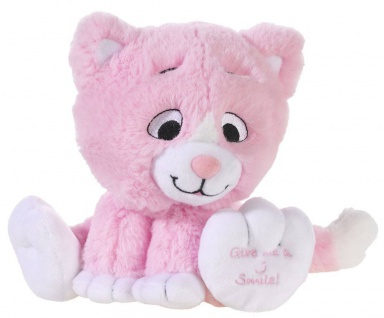 Plüschtier Katze Kitty Smile Farbe rose
