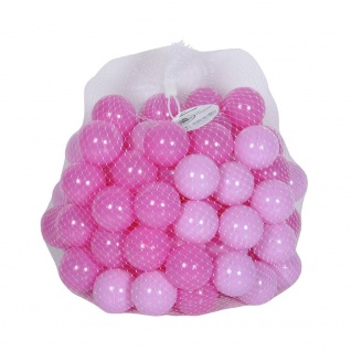 Bälleset Girl sortiert pink / rosa, 100 Stück