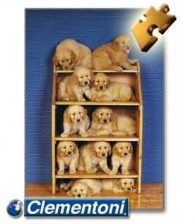 Clementoni Puzzle 500 Teile - Hundefreunde