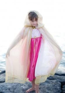 Prinzessinnen-Cape Royal, gold/rosa