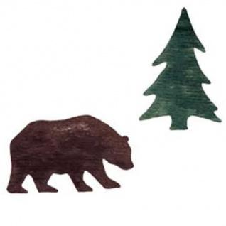 Wandaufkleber Wallies Motiv-Sticker (Cutouts) Bear & Tree