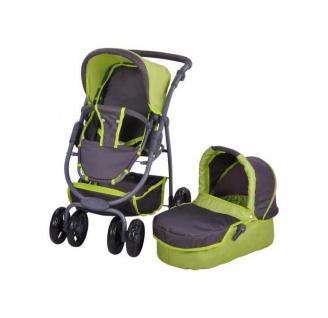 Kombi-Puppenwagen Coco, tec green