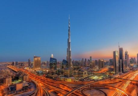 Vlies Fototapete Dubai Burj Khalifa
