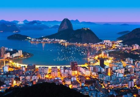 Vlies Fototapete Rio De Janeiro, Copacabana Strand am Meer