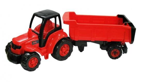 Traktor mit Sattelschlepper Champion