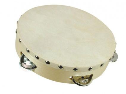 Bino Tamburin 8 Zoll mit 5 Schellen