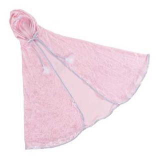 Prinzessinnen-Cape rosa Grösse M (4-6 Jahre)
