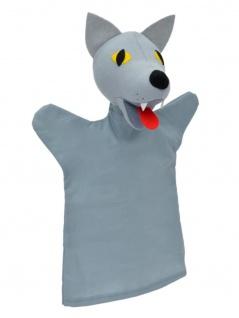 Handpuppe Wolf, 28cm