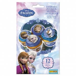 Essbare Muffinaufleger Disney Frozen