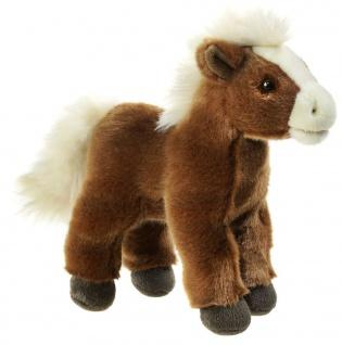 Plüschtier Mi Classico Pferd, stehend, 23 cm
