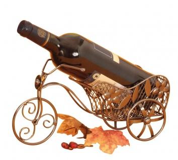 Wein-Flaschenhalter Fahrrad