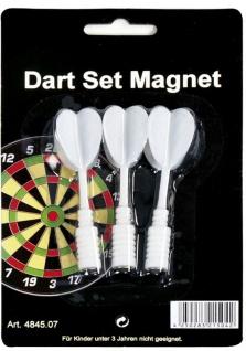 Ersatzpfeile für Magnet-Dartboard weiss, 3er-Set
