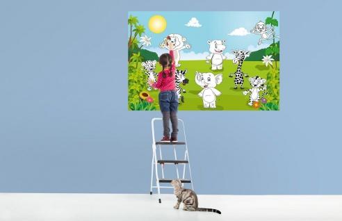 XXL Poster Kinder, Tiere zum Ausmalen - Vorschau 2
