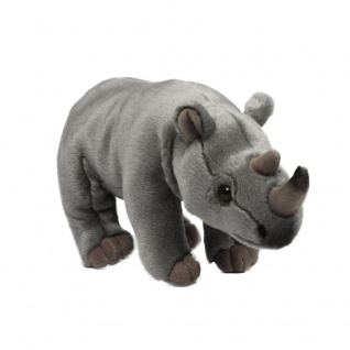 Plüschtier WWF Nashorn, Grösse 30cm