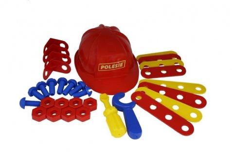 Heimwerker Werkzeug-Set mit Helm
