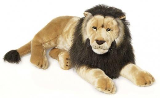 WWF Plüschtier Löwe, liegend, Riesenplüsch