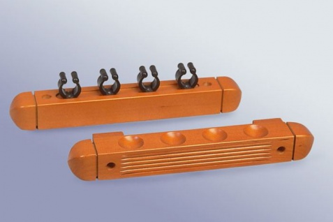 Wandhalter für Queue 4 Stück, Länge 29 cm