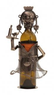 Wein-Flaschenhalter Kellnerin