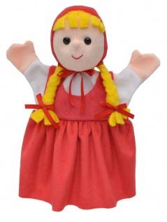Handpuppe Rotkäppchen, 27cm
