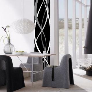 Wandtattoo Kunst Modern, Schwarz-weiß, selbstklebend - Vorschau 2
