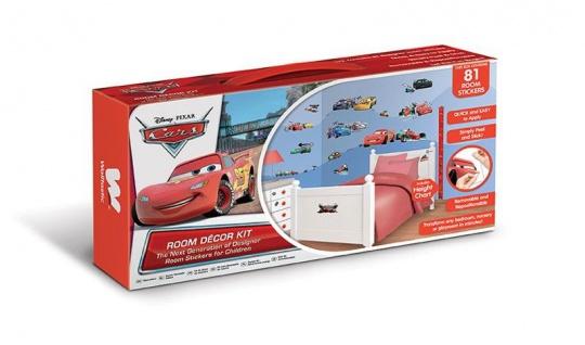 Walltastic Mini Kit Disney Cars