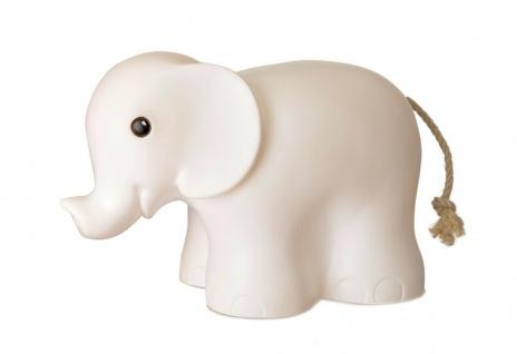 Nachtlicht Elefant, weiß