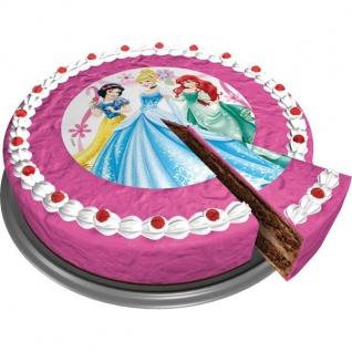 Zucker-Tortenaufleger Disney Princess