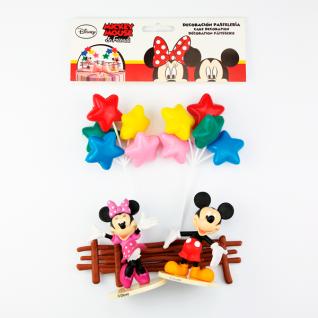 Tortendeko Set Mickey & Minnie