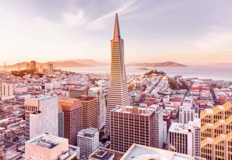 Fototapete San Francisco Morning