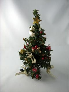 Großer Weihnachtsbaum mit 5 LED für Puppenhaus