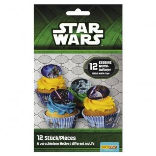 Essbare Muffinaufleger Star Wars