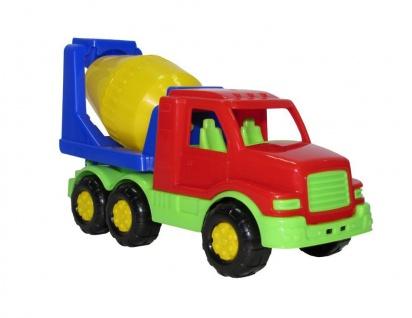 Max Betontransporter - Spielauto, farblich sortiert