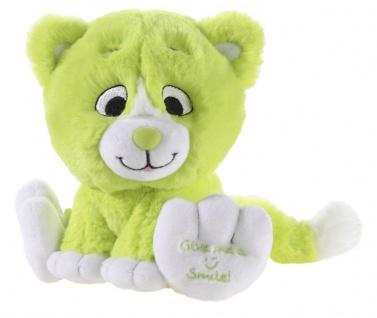 Plüschtier Katze Kitty Smile Farbe grün