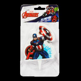 Kuchenkerze Captain America