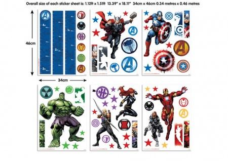 Walltastic Mini Kit The Avengers