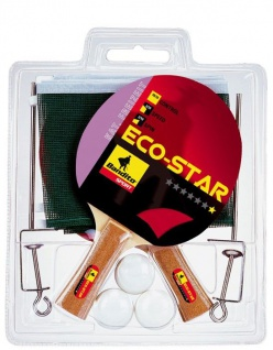 Tennis Schläger-Set Komplett-Set Eco Star