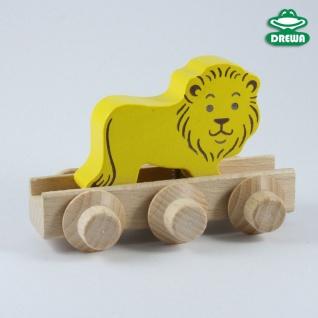 Laufteil für DREWA Kugelbahnen, Dschungeltier - Löwe