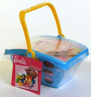 Einkaufskorb Barbie, 14-teilig