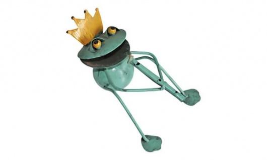 Metallfigur Frosch Felix