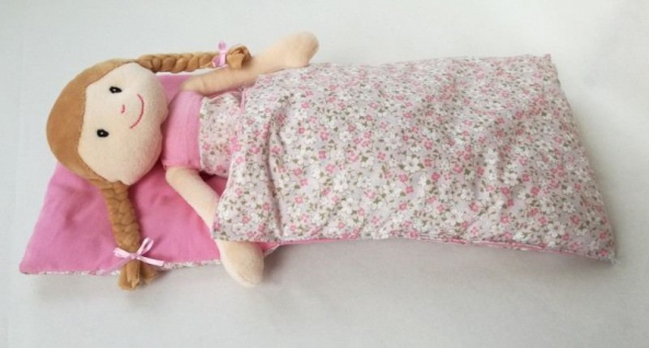 Puppenschlafsack - Schlafsack für die Puppe