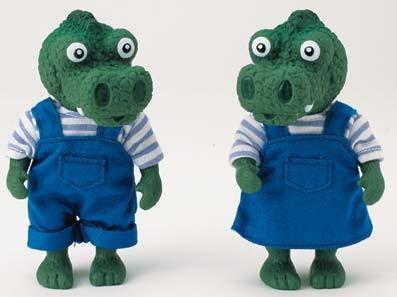 Das Krokodil aus der Serie: Die kleinen Freunde aus dem Wald