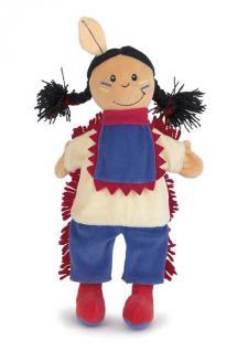 Handpuppe Indianer von Egmont Toys