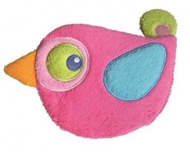 Waschhandschuh SWASH Vogel